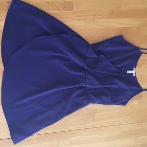 Indigo Tank Top Dress
